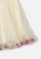 Cotton On - Trixiebelle tulle skirt -  cream