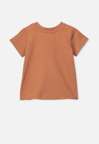 Cotton On - Jamie short sleeve tee - brown