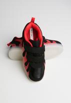 POP CANDY - Light up sneaker - black & red