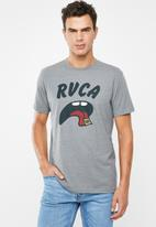 RVCA - Drop out tee - grey