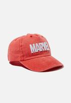 Cotton On - Licensed baseball cap - red
