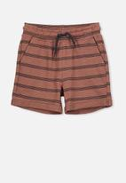 Cotton On - Henry slouch short - rust & black
