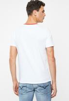 GUESS - Too large tee - white
