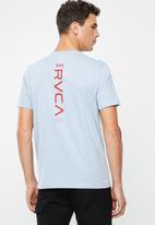 RVCA - Down the line tee - blue