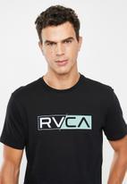 RVCA - Lateral RVCA tee - black