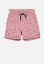 Cotton On - Henry slouch short - pink & blue