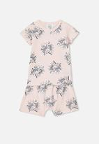 Cotton On - Harpa short sleeve pj set - pink