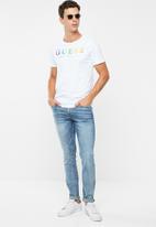 GUESS - Basic super skinny jeans - blue