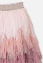 Cotton On - Tori tulle skirt - pink
