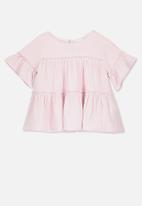 Cotton On - Frida frill top - pink