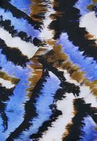 Superbalist - Printed wrap playsuit - multi