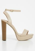 Call It Spring - Haaudia heel - neutral