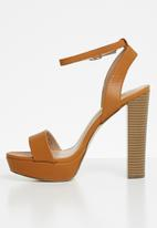 Call It Spring - Haaudia heel - brown