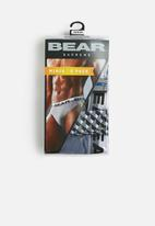 Bear - Mini print briefs 5 pack - multi