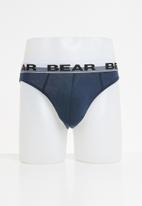 Bear - Plain briefs 3 packs - multi