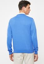 Pringle of Scotland - Regis crew neck knit - blue