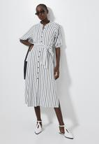 Superbalist - Blouson sleeve shirt dress - multi