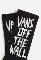 Vans - Scratched vans socks - black