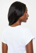 edit - 2 Pack round neck tees - white & grey