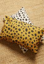 Hertex Fabrics - Desert storm cushion cover - ochre