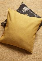 Hertex Fabrics - Page cushion cover - dijon