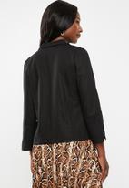 edit - Soft jacket - black