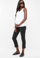 Cotton On - Maternity everyday gathered side tank top - white