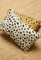 Hertex Fabrics - Desert storm cushion cover - coal