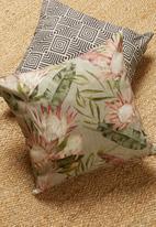Hertex Fabrics - Proteus cushion cover - griseus