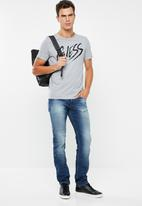 GUESS - Ross slim fit straight leg jeans - blue