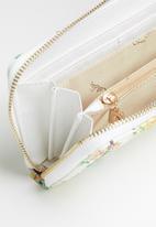 Pierre Cardin - Libby floral purse - white