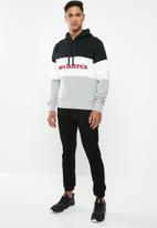 New Balance  - Stadium hoodie - black & white