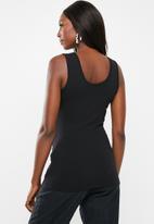 Superbalist - Maternity 2 Pack vest - white & black