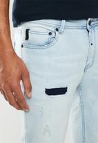 S.P.C.C. - Trench arctic slim fit jeans - blue