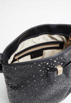 Pierre Cardin - Cassandra cut out bucket - black