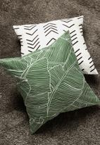 Sixth Floor - Nalani cushion cover - green