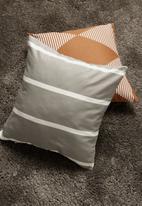 Sixth Floor - Vert cushion cover - grey