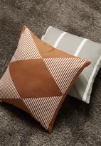 Sixth Floor - Aisha cushion cover - rust