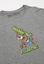 Billabong  - Tiger short sleeve tee - grey