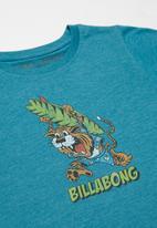 Billabong  - Tiger short sleeve tee - blue