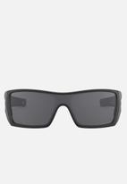 Oakley - Batwolf grey polarized sunglasses 27mm - matte black