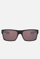 Oakley - Twoface prizm daily polarized lens sunglasses 60mm - matte black