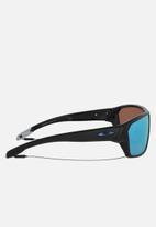 Oakley - Split shot prizm deep h2o polarized lens sunglasses 64mm - matte black