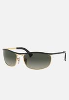 Ray-Ban - Olympian sunglasses 62mm - black/gold