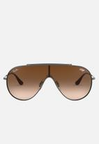 Ray-Ban - Ray-ban wings sunglasses 33m - brown/gunmetal