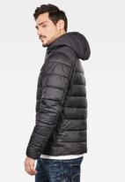 G-Star RAW - Attac quilted hdd jacket - black