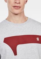 G-Star RAW - Graphic 13 r sw long sleeve sweats  - grey