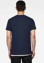 G-Star RAW - Graphic 10 short sleeve T-shirts - blue