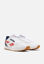 Reebok Classic - Classic Leather - white / collegiate navy / radiant red