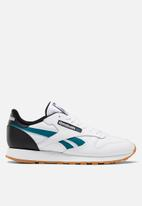 Reebok Classic - Classic Leather - white / black / heritage teal